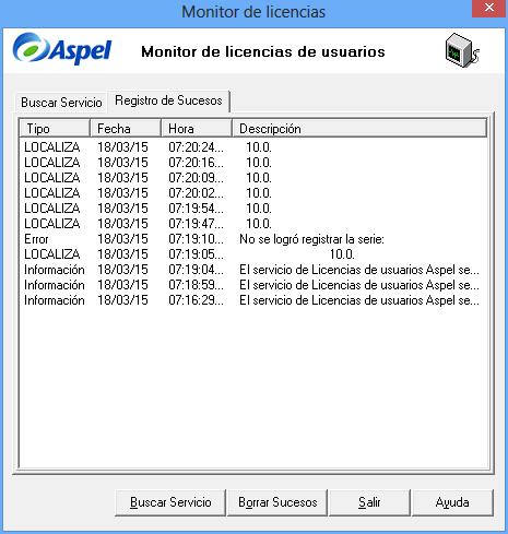 Kx.CloudIngenium.com - Aspel Como instalar y activar el servidor de licencias - Error No se Logró registrar la serie