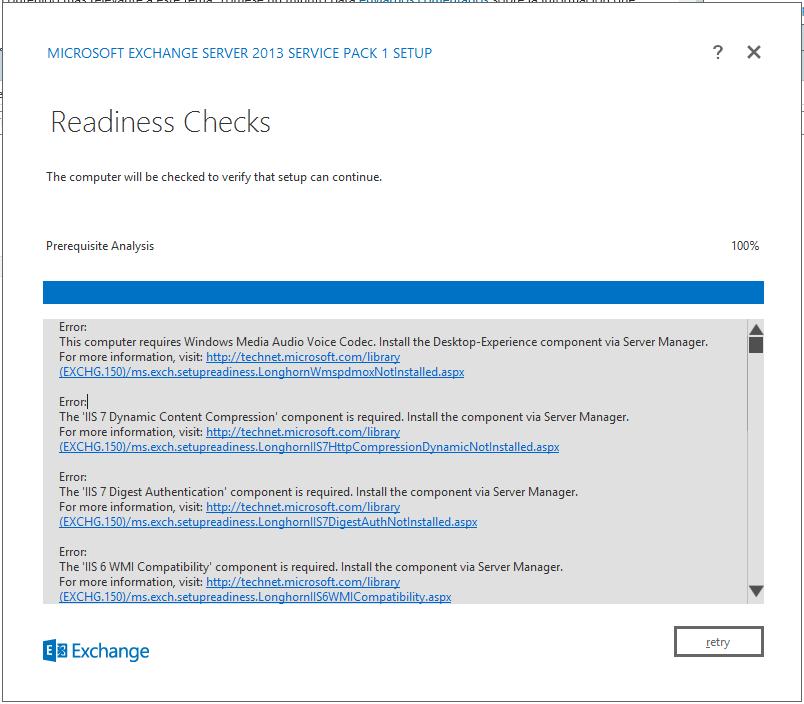 How to Install Exchange Server 2013 SP1 - Readiness Checks - Kx.CloudIngenium.com